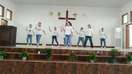 复活节舞蹈《我要向上举目》