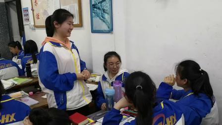 瓮安中学393班晚自习简祝巫汶星熊思念丁湘生日快乐