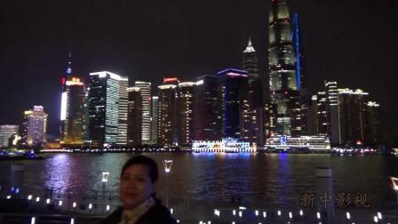 上海我来了.夜景真漂亮
