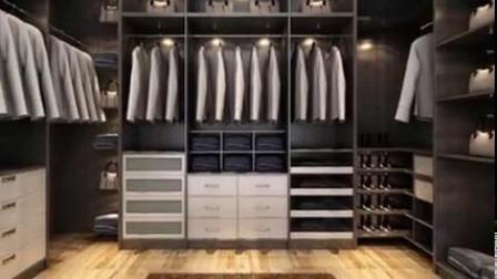 未来派欧松护墙板 定制衣柜 木门 衡阳中意装饰