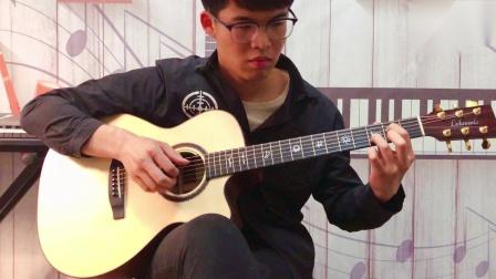 吴亦凡《大碗宽面》指弹吉他版来袭!~