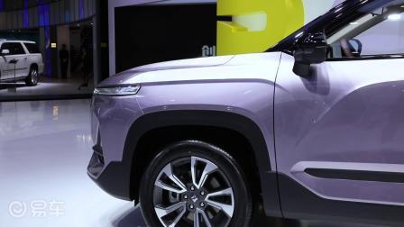 全新宝骏RS-5亮相上海国际车展