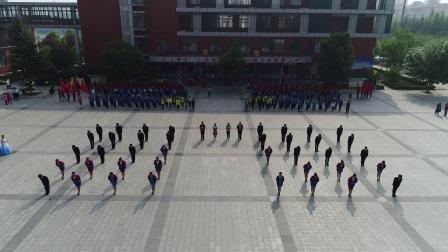 陕州区中专研学大型表演彩排