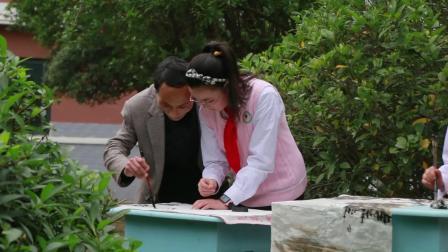 合肥市行知学校学苑校区六年级绘画《书香家园》