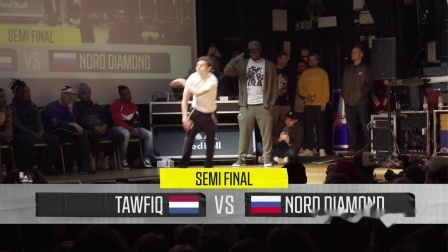 UK B-Boy Championships 2019 半决赛 B-Boys  1v1Tawfiq vs. Nord Diamond