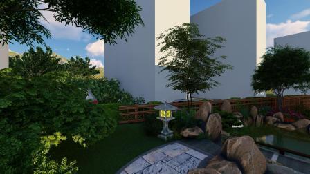 云麓山水浦江庭院效果图别墅花园设计施工庭院景观私家庭院园林13957996998