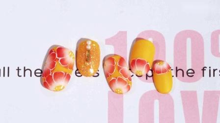 【你求窝教-第1264期】橘红排笔花.