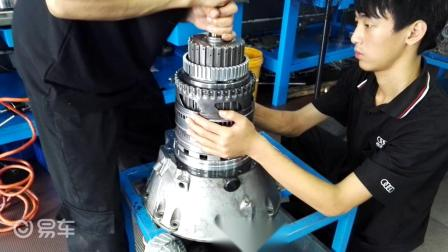 奔驰自动变速箱维修:变速箱打滑