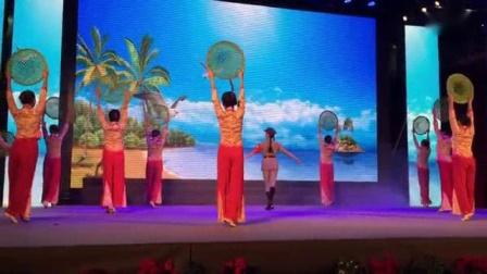 我在舞蹈《万泉河水》岚舞艺术中心截了一段小视频