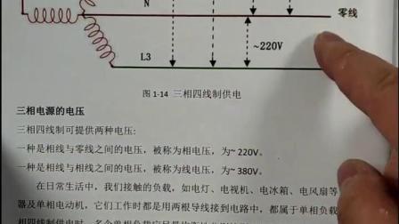 相电压与线电压。
