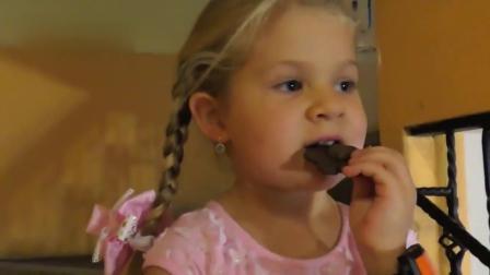 小萝莉戴安娜儿童职业体验--糕点师 儿童创意玩具萌宝囧事