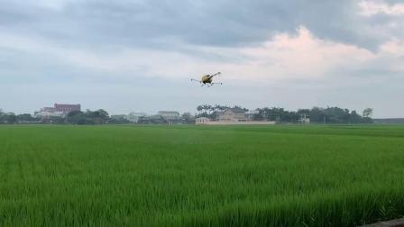 亞拓全自動導航植保機 - 嘉義大林農噴作業