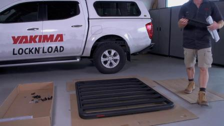 Yakima LockN'Load Platform - Assembly & Installation 洛克装载平台 安装视频