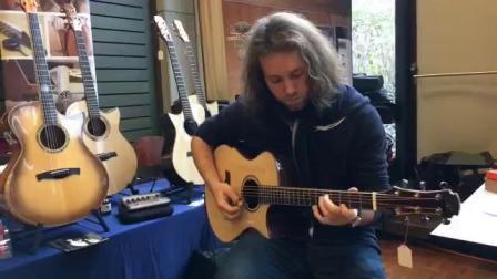 瑞士乐手Zarek Silberschmidt用美诗特Maestro吉他弹奏