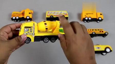 幼儿英文启蒙:用街道车辆教小朋友学习数字和车辆名称