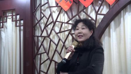 李春花演唱豫剧-克拉玛依市文化馆、举办戏曲培训班-于2019年4月25日下午在文化街文化茶楼举办、国家一级演员豫剧艺术家张春玲担任老师