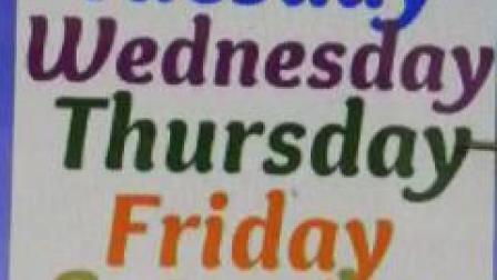 Weekdays-星期一至星期日-Daring Panda English Learning Center-Kids English Song