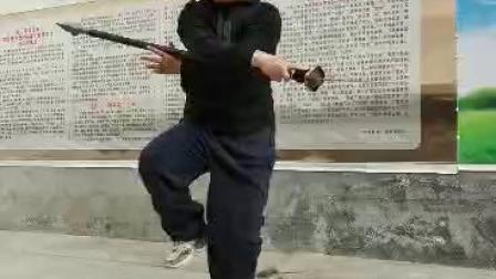 陈辉师父演练春秋大刀