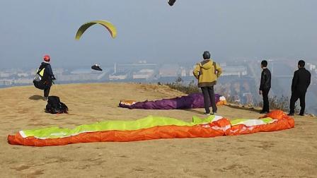 龙山滑翔伞基地