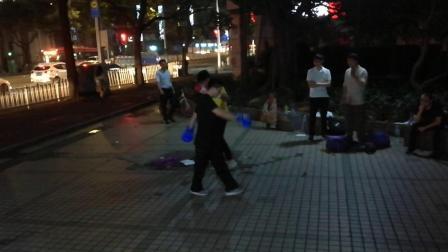 20190425黎式咏春拳师兄弟对练7