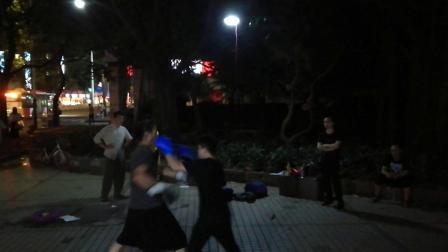 20190425黎式咏春拳师兄弟对练6