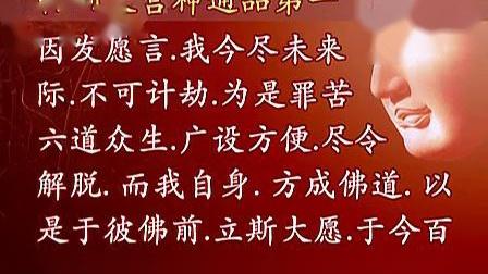 地藏菩萨本愿经(男声木鱼读诵版  82分钟)