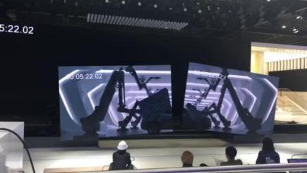 上海国际汽车工业展览会一汽红旗车展彩排