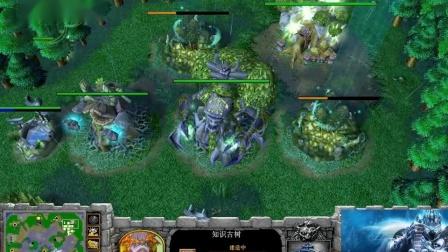 【决战打酱油】魔兽争霸大帝解说 Infi vs LawLiet 4 AZ-国语720P