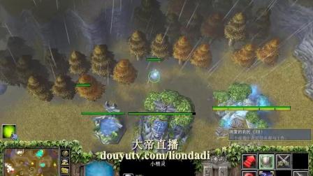 【落地包饺子】魔兽争霸大帝解说 Lyn 大帝 vs TH000 TeD 4 PG-国语720P