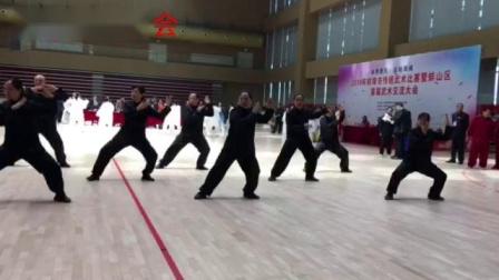 尊古太极:蚌埠市缘太极拳友会  8人参加蚌山区比赛