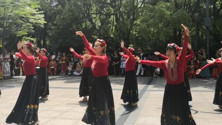 新疆舞《请你尝块哈密瓜》佟亚珍2019.4.27周凤浩制作🎥