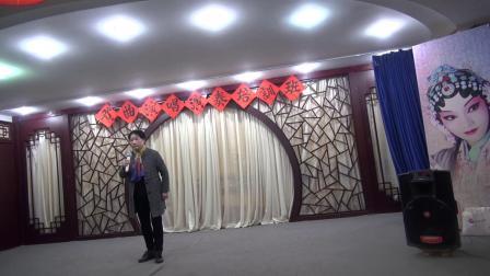 吕芳琴演唱秦腔《赵氏孤儿》选段-克拉玛依市文化馆举办戏曲培训班-于2019年4月27日下午在文化街文化茶楼举 办、国家一级演员秦腔艺术家曹治中担任老师
