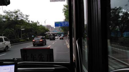 广州第一巴士903路 安凯客车 天河智慧城核心区(高唐)方向 奥林匹克中心北门-科学城路口