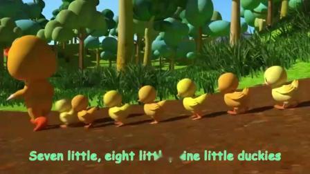 英语早教儿童歌谣合集 《蚂蚁和蚂蚱》《十只鸭子》