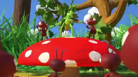 英语早教儿童歌谣合集 《蚂蚁和蚂蚱》《清理歌曲》