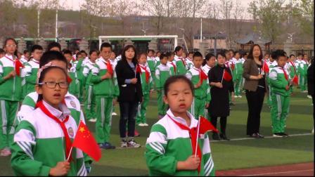 双鸭山市实验学校师生共唱《我和我的祖国》