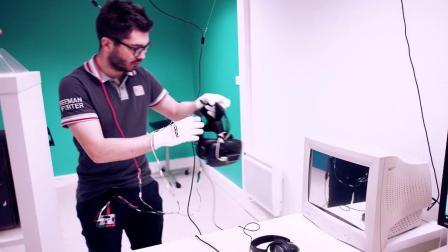 交互设计VR本科生作品 - Kadath Arcade VR
