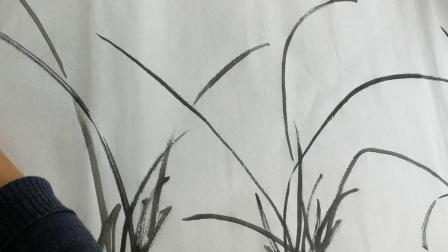 刘振强老师授课视频~兰花花朵与整体画法(20190429)