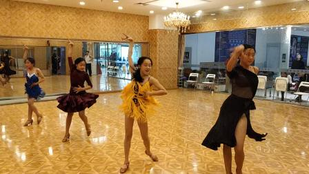 沈阳少儿拉丁舞培训飞舞天达舞蹈学校在线课堂