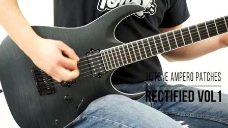 Hotone Ampero Patches Rectified Metal Demo (Mesa Boogie Rectifier)