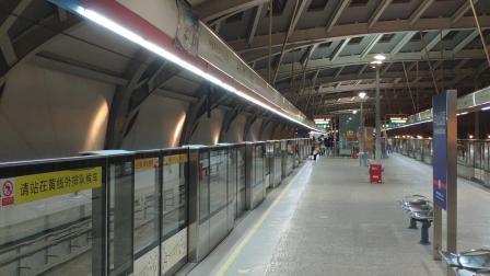 【南京地铁】2号线回库车通过学则路站