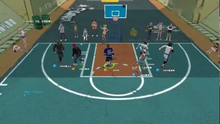 街头篮球1代G白哥后卫第5场