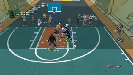 街头篮球1代G白哥后卫第7场