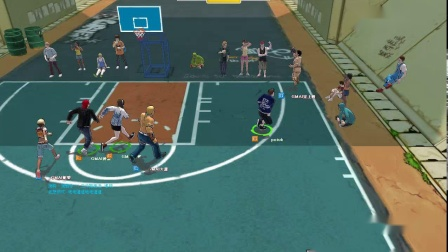 街头篮球1代G白哥后卫第13场