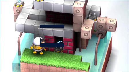【机械迷宫】★新游戏★试玩  呆萌的大眼机器人竟然被电死了!EP.2-小鹿大大神