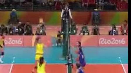 我在[全场回放]女排决赛 中国VS塞尔维亚 1080P截取了一段小视频