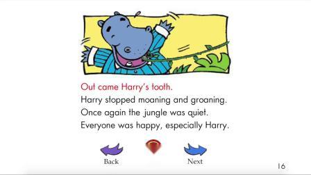 Hippo's Toothache - RAZ level-I