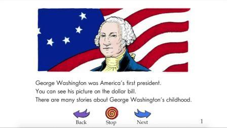Childhood Stories of George Washington - RAZ level-I
