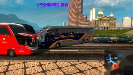 欧卡2 中国地图 客运模式 贵阳到南平 第二期_高清