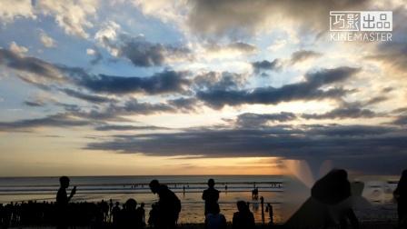 库塔海滩日落1